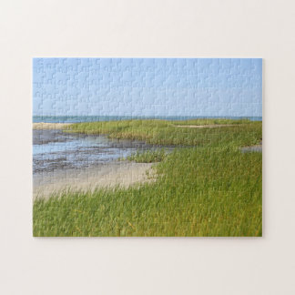 Cape Cod Bay ocean beach Jigsaw Puzzle