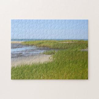 Cape Cod Bay ocean beach Puzzle