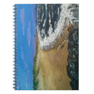Cape Cod beach at dusk Notebook