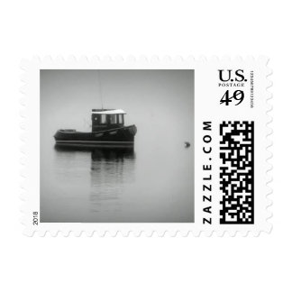 Cape Cod Boat in Fog Stamp $0.47 (1st Class 1oz)