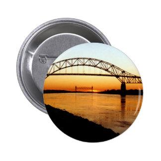 Cape Cod Bourne Bridge Pinback Button