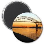 Cape Cod Bourne Bridge Fridge Magnets