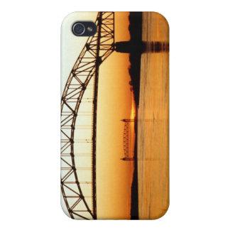 Cape Cod Bourne Bridge iPhone 4 Covers