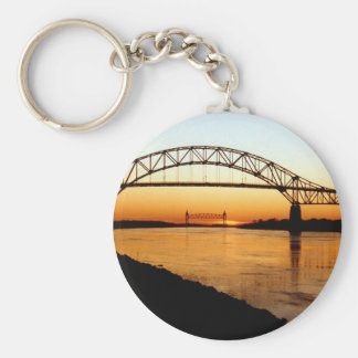 Cape Cod Bourne Bridge Key Chain