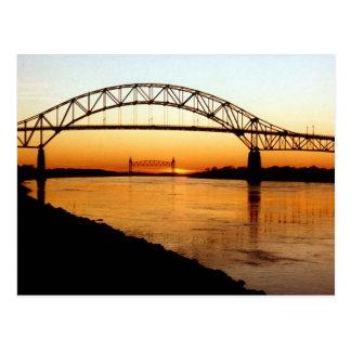 Cape Cod Bourne Bridge Postcards