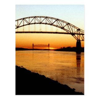 Cape Cod Bourne Bridge Post Card