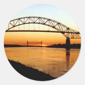 Cape Cod Bourne Bridge Stickers