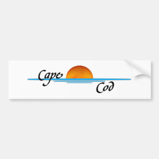 Cape Cod Etiqueta De Parachoque