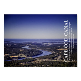 Cape Cod Canal - Bourne Sagamore Railroad Bridges Posters