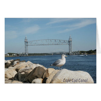 Cape Cod Canal Stationery Note Card