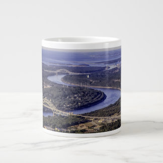 Cape Cod Canal Jumbo Mug
