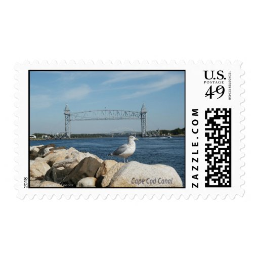 Cape Cod Canal Postage Stamp