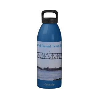 Cape Cod Canal Railroad Bridge Aluminum Bottle Reusable Water Bottles
