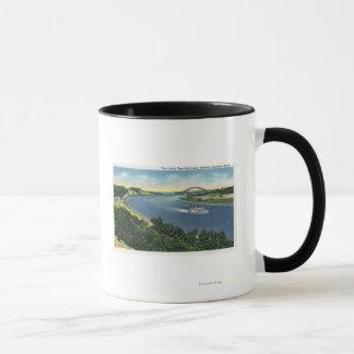 Cape Cod Canal View of Sagamore Bridge Mug