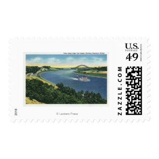 Cape Cod Canal View of Sagamore Bridge Postage