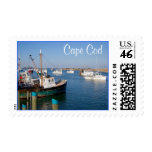 Cape Cod Chatham Mass Boats in Bay  Stamps