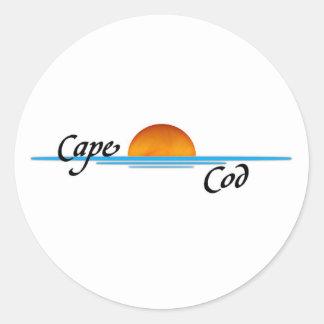 Cape Cod Classic Round Sticker