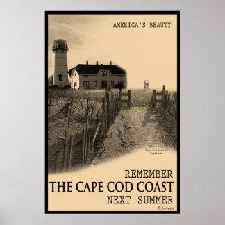Cape Cod Coast Poster