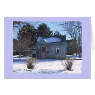 Cape Cod Cottage Stationery Note Card
