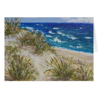 Cape Cod Dunes Stationery Note Card