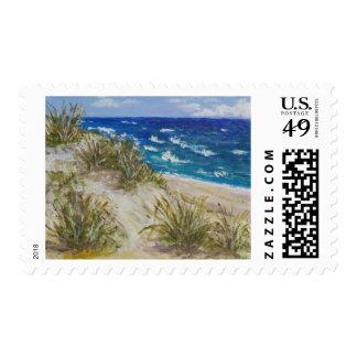 Cape Cod Dunes Postage