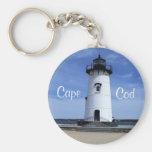 Cape Cod Edgartown Lighthouse Key Chain