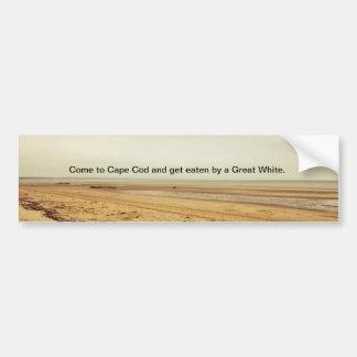 Cape Cod/Great White bumper sticker.