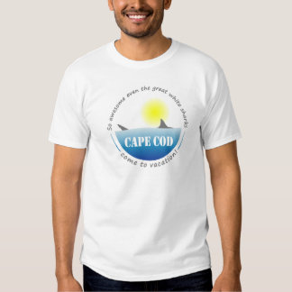 Cape Cod Great White Shark T-Shirt