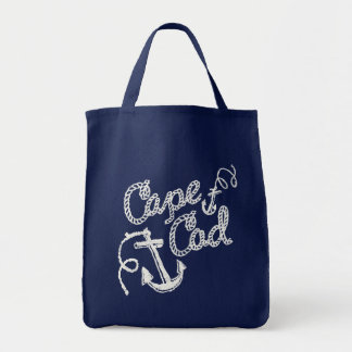 Cape Cod Grocery Tote Bag