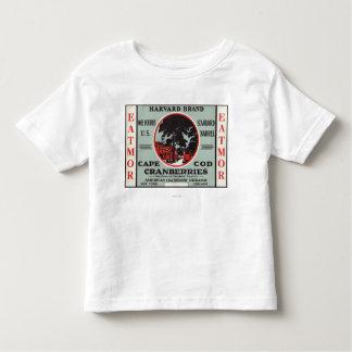 Cape Cod Harvard Eatmor Cranberries Brand Toddler T-shirt
