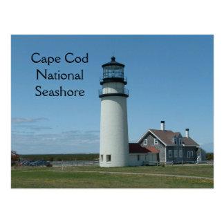 Cape Cod Highland Lighthouse Postcard