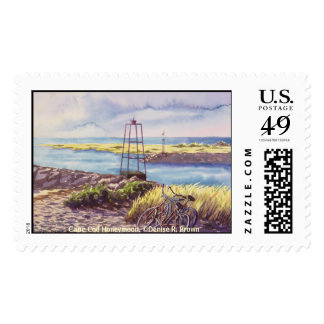 Cape Cod Honeymoon Postage