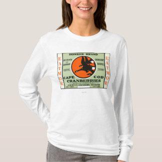 Cape Cod Honker Eatmor Cranberries Brand Label T-Shirt