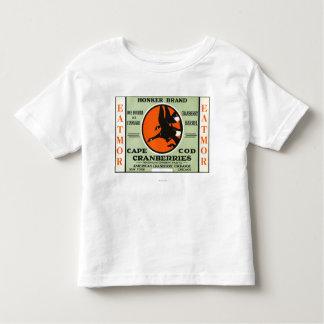 Cape Cod Honker Eatmor Cranberries Brand Label Toddler T-shirt