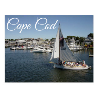 Cape Cod Hyannis, Massachusetts Post Card