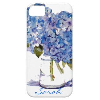 Cape Cod Hydrangeas iPhone 5 case Personalized