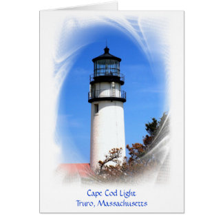 Cape Cod Light Stationery Note Card