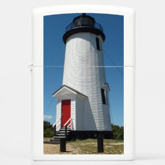 Cape Cod Light House White Zippo Lighter