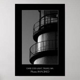 CAPE COD LIGHT, TRURO, MA., US POSTER