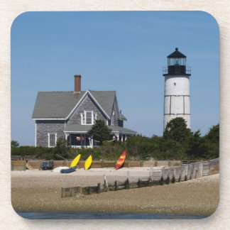 Cape Cod Lighthouse Beverage Coaster