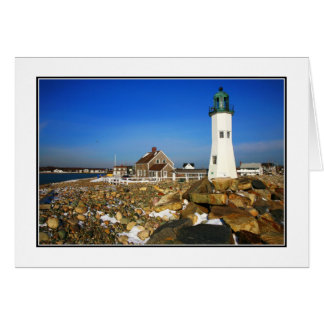 Cape Cod Lighthouse Blank Note Card
