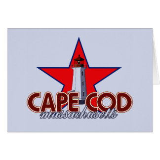 Cape Cod Lighthouse Stationery Note Card