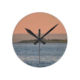 Cape Cod Lighthouse Round Clocks