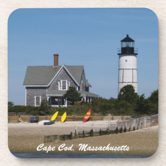 Cape Cod Lighthouse Drink Coaster