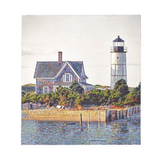 Cape Cod Lighthouse Gift Notepad