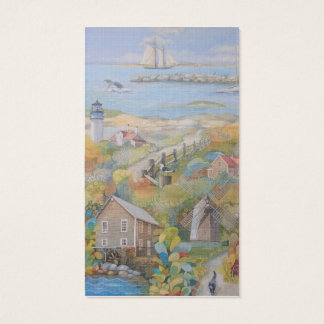 Cape Cod Lighthouse MA Double-Sided Business Cards