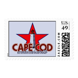 Cape Cod Lighthouse Postage Stamp