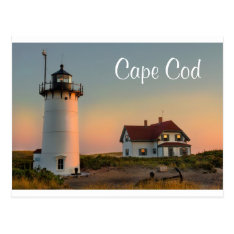 Cape Cod Lighthouse Provincetown Ma Post Card at Zazzle