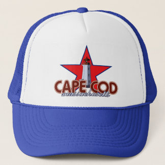 Cape Cod Lighthouse Trucker Hat