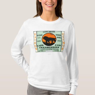 Cape Cod Lion Eatmor Cranberries Brand Label T-Shirt